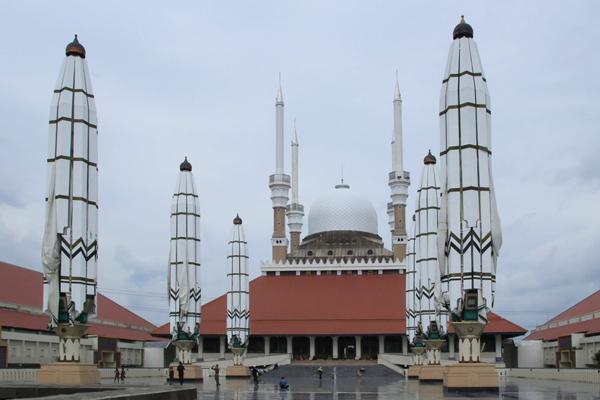 foto masjid agung semarang jawa tengah