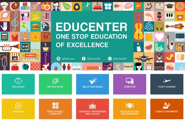 educenter mall pendidikan di indonesia