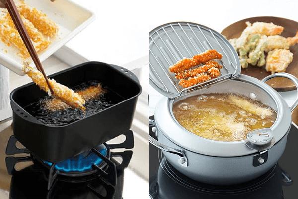 alat masak untuk membuat tempura jepang