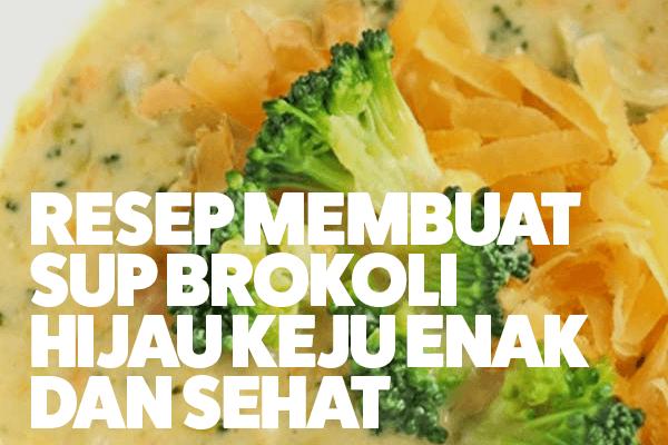 resep brokoli enak dan sehat