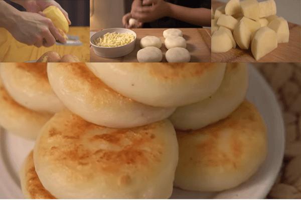 resep membuat pancake kentang keju