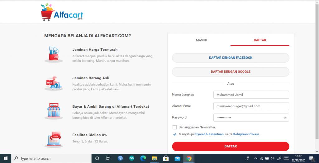 belanja sembako murah alfacart.com