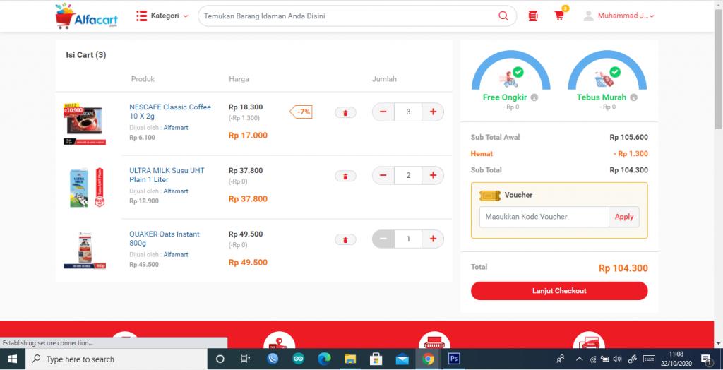 belanja sembako online murah alfacart.com