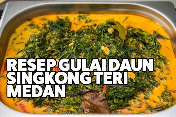 resep gulai daun singkong