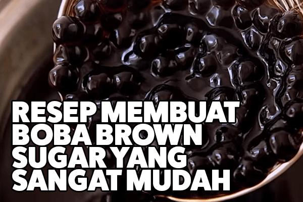 resep boba brown sugar