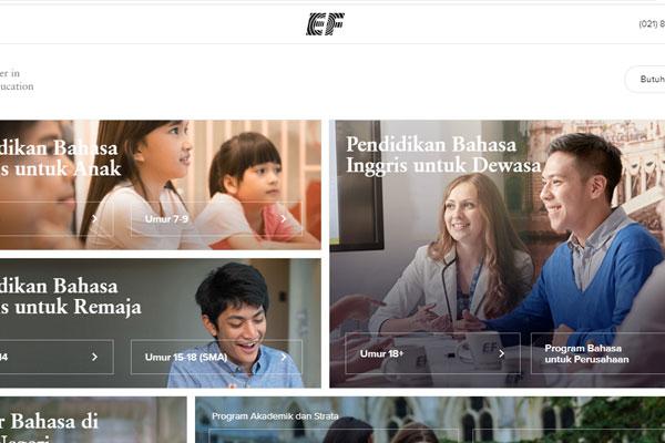 ef adults kursus bahasa inggris profesional indonesia