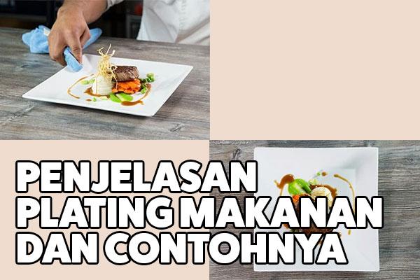 plating makanan dan contohnya