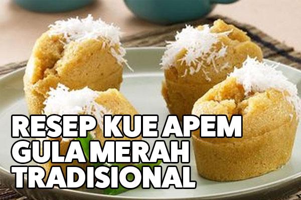 resep kue apem gula merah tradisional