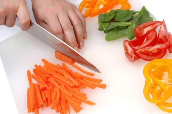teknik memotong sayuran