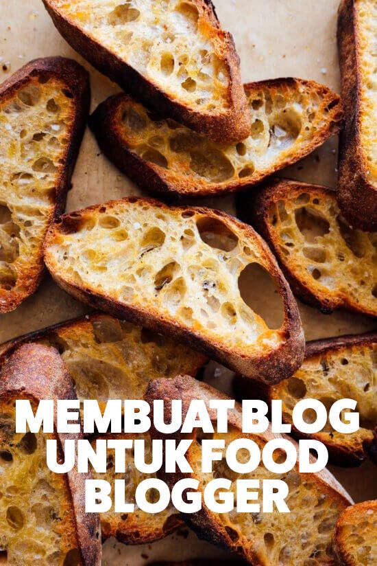 membuat website makanan untuk food blogger