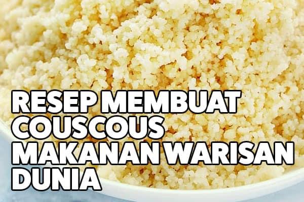 resep couscous