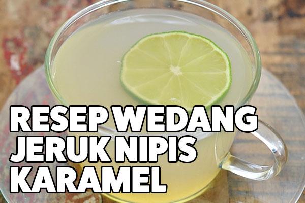 resep wedang jeruk nipis